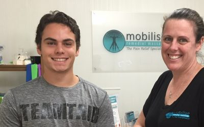 Mobilise Sports Massage Client: Sprinter Russel Taib aiming for the Gold Coast Commonwealth Games