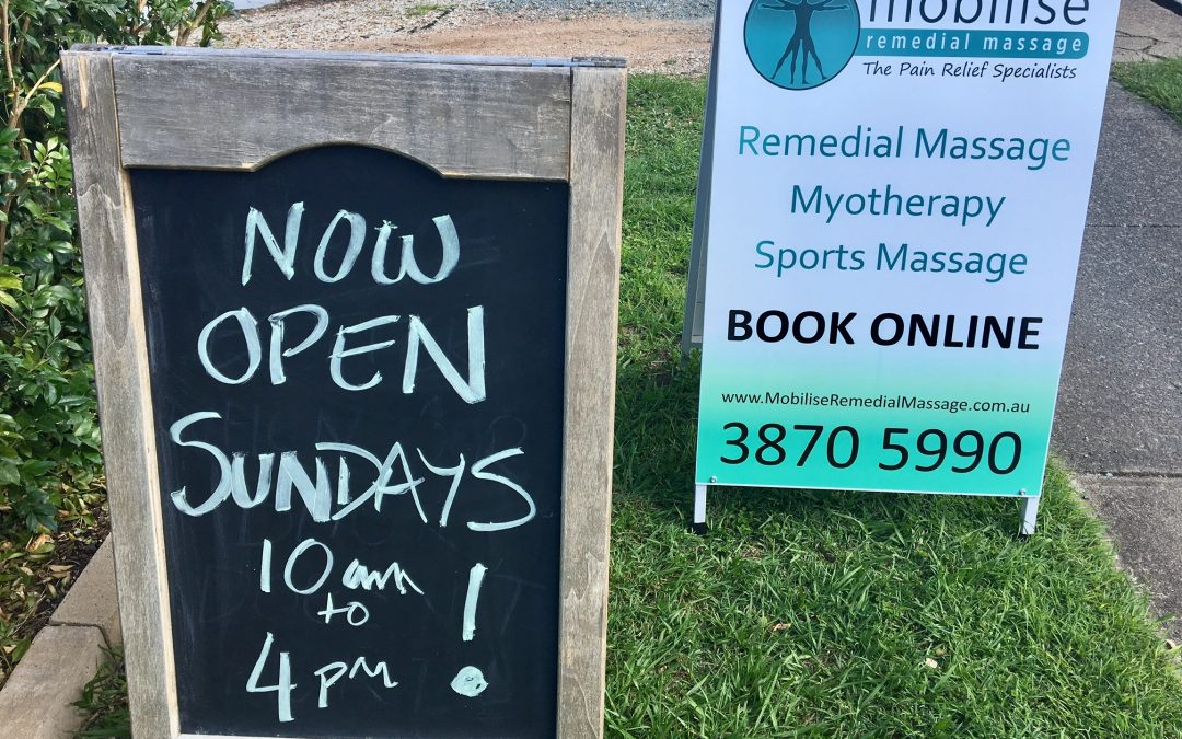 Mobilise Now Open Sundays